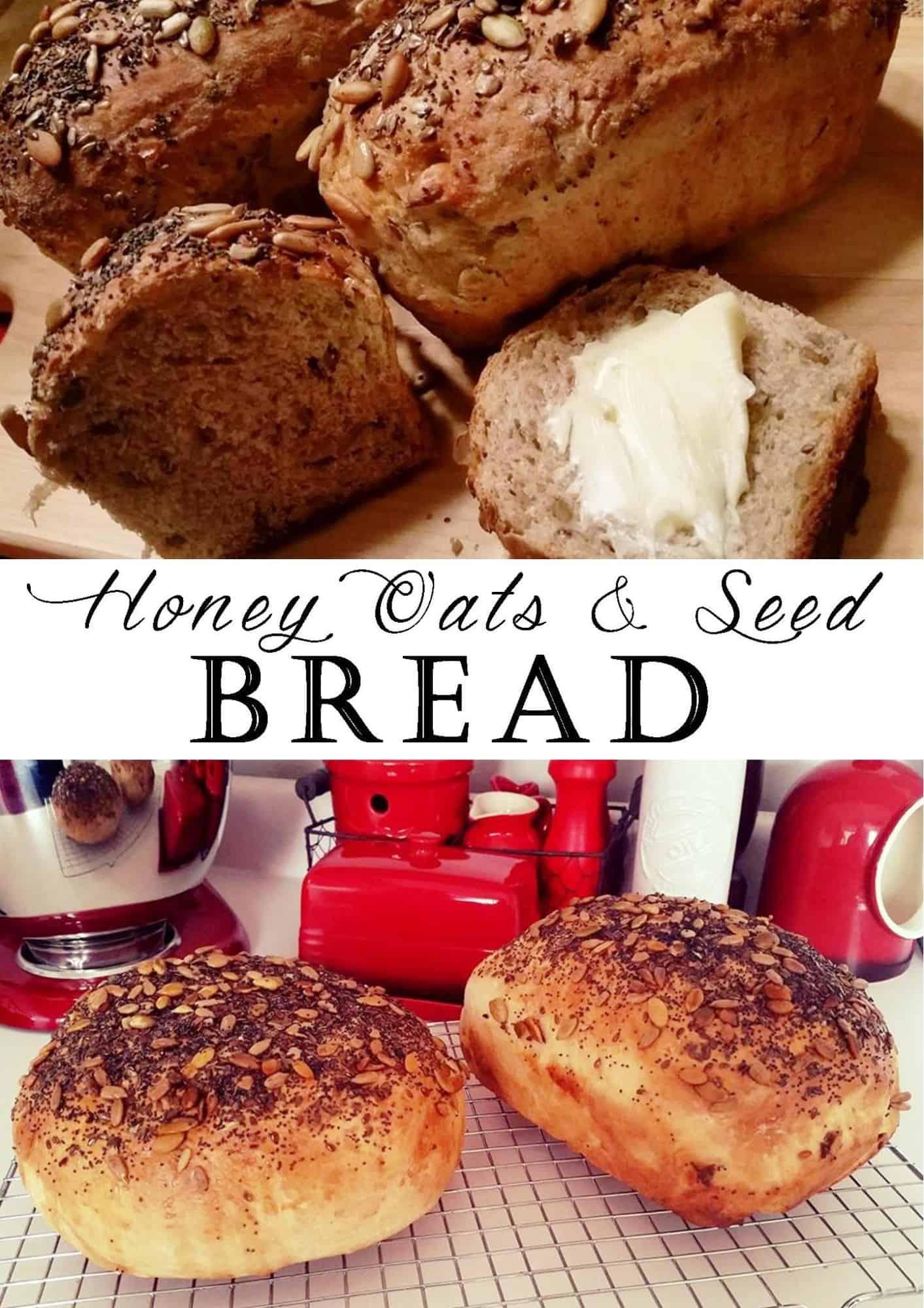 Honey & Oats Seed Bread