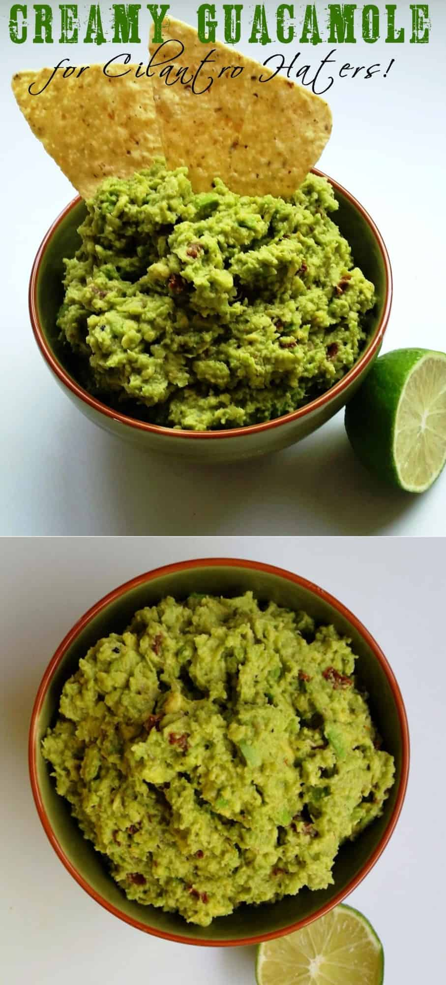 Creamy Guacamole for Cilantro Haters