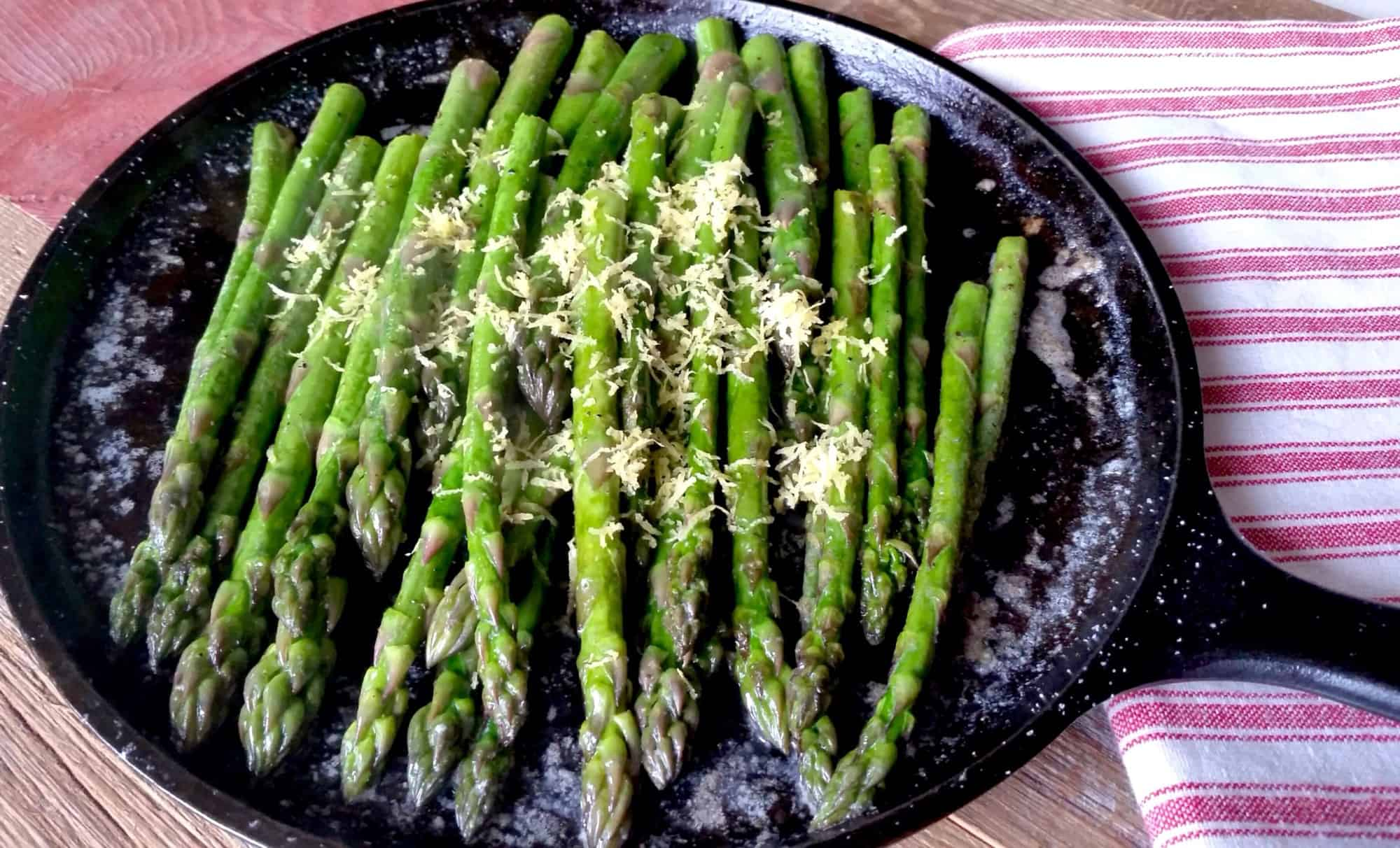 Sauteed Buttered Asaparagus