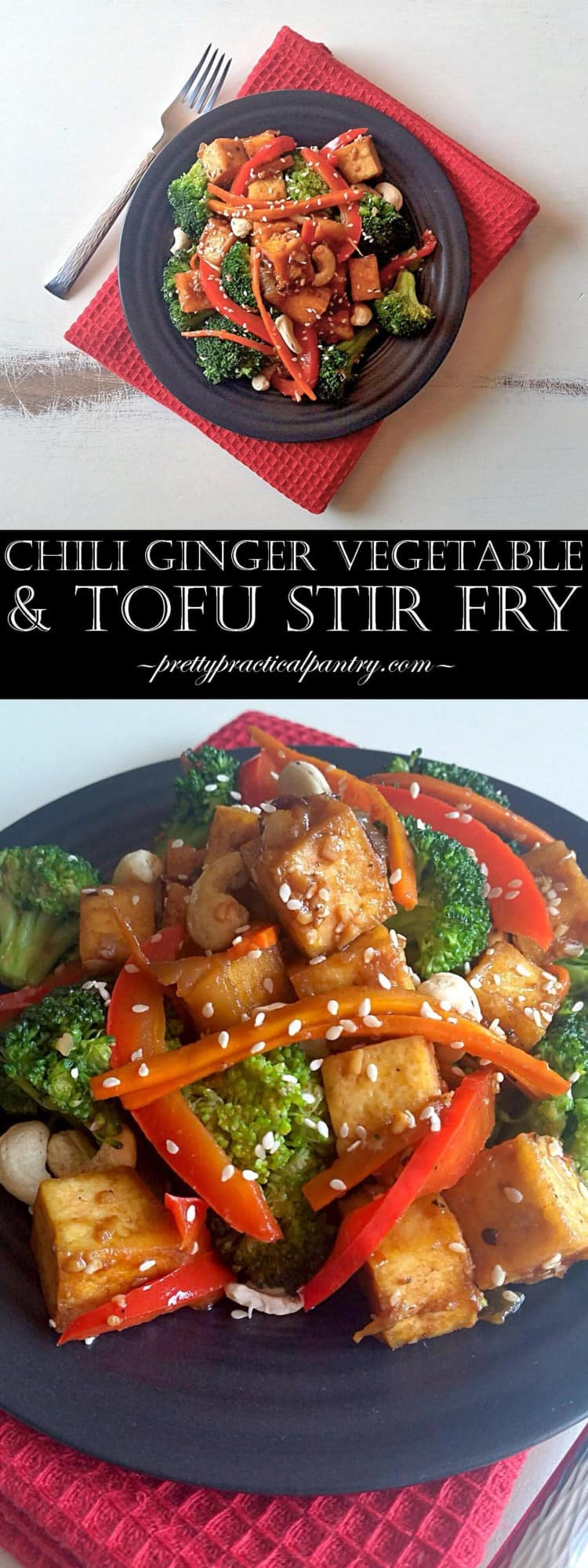 Chilli Ginger Vegetable & Tofu Stir Fry - Lord Byron's Kitchen