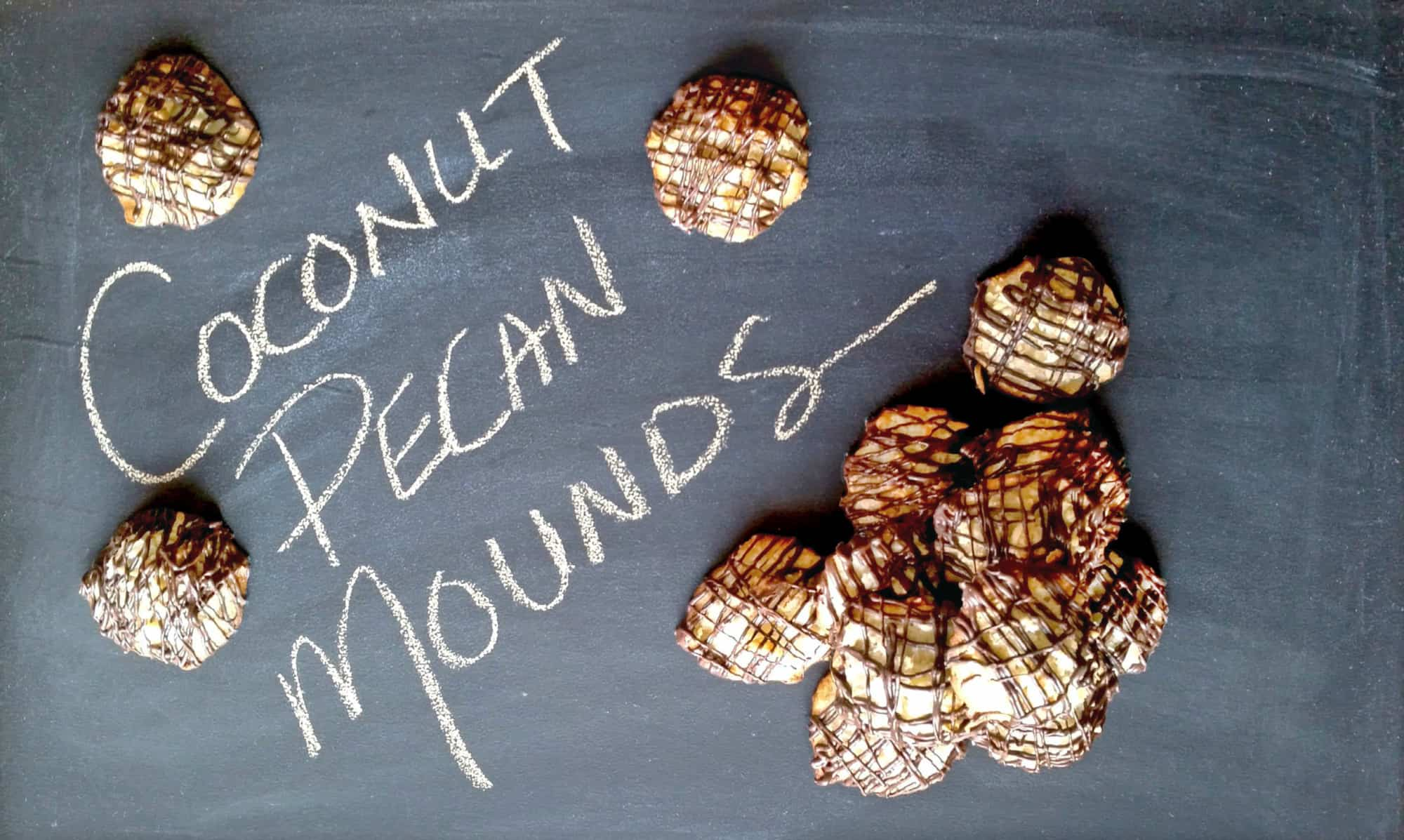 Coconut Pecan Mounds
