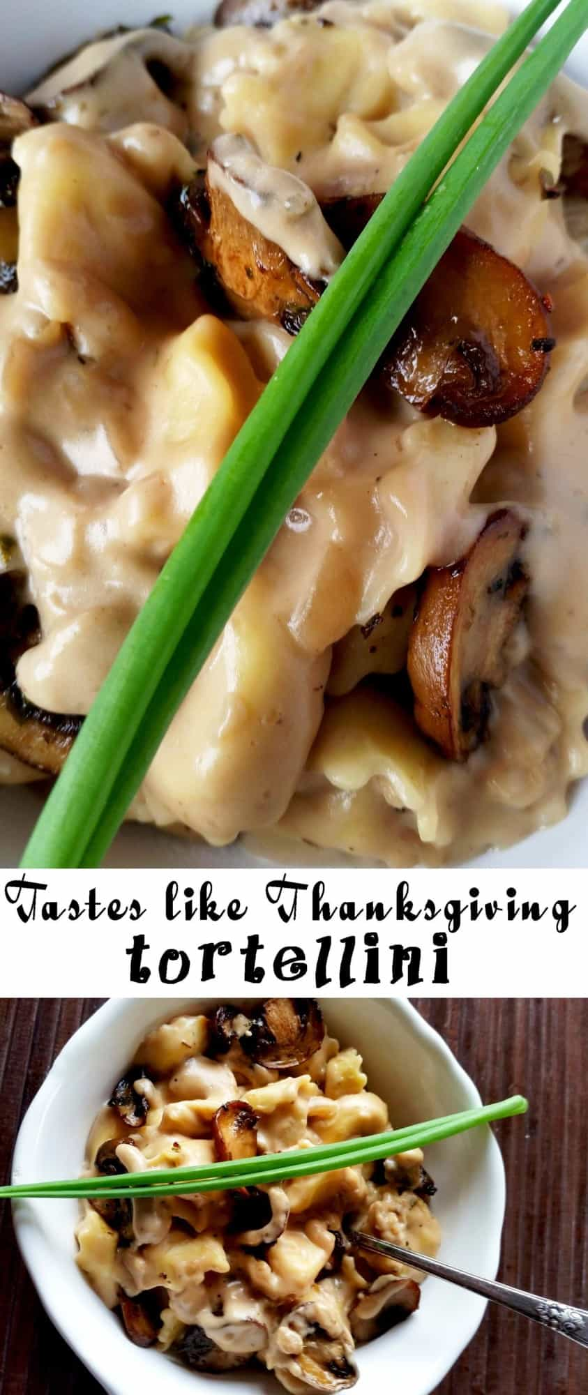 Tastes like Thanksgiving Tortellini