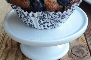 Classic Blueberry Banana Muffins