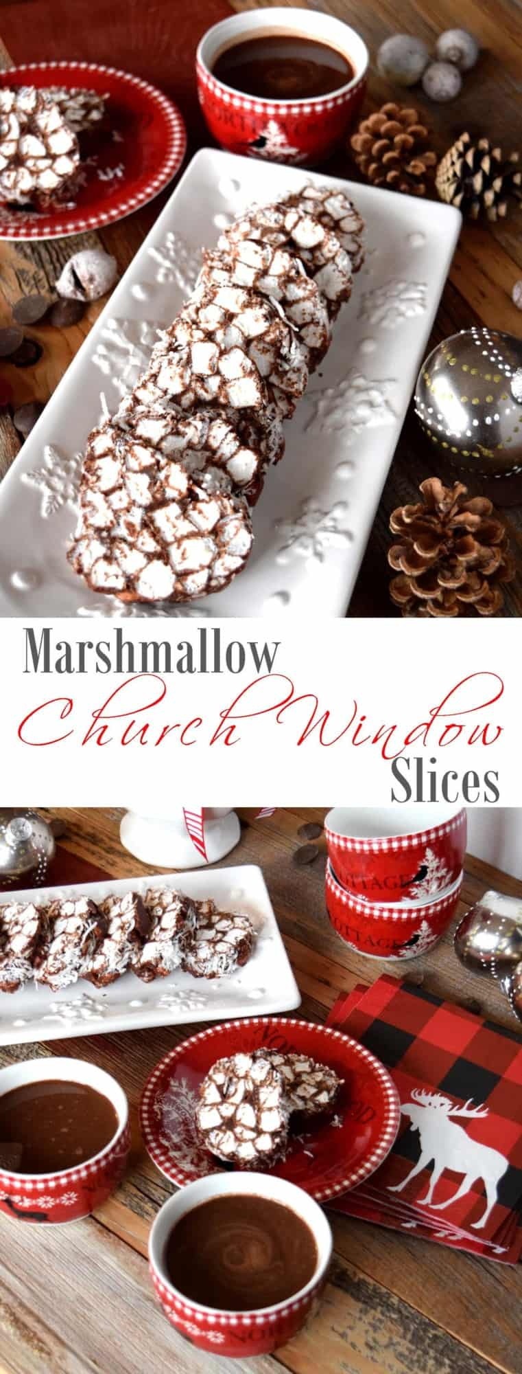 Marshmallow Church Window Slices