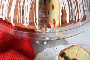 Christmas Cherry Butter Bundt Cake