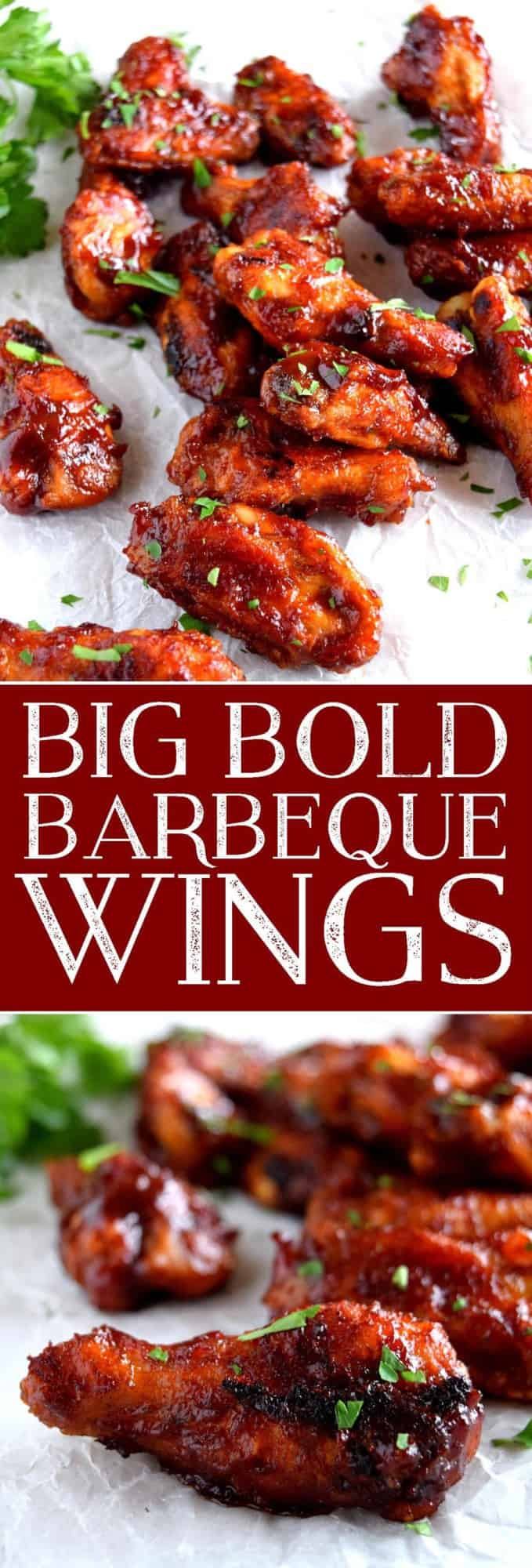 Big Bold Barbeque Wings