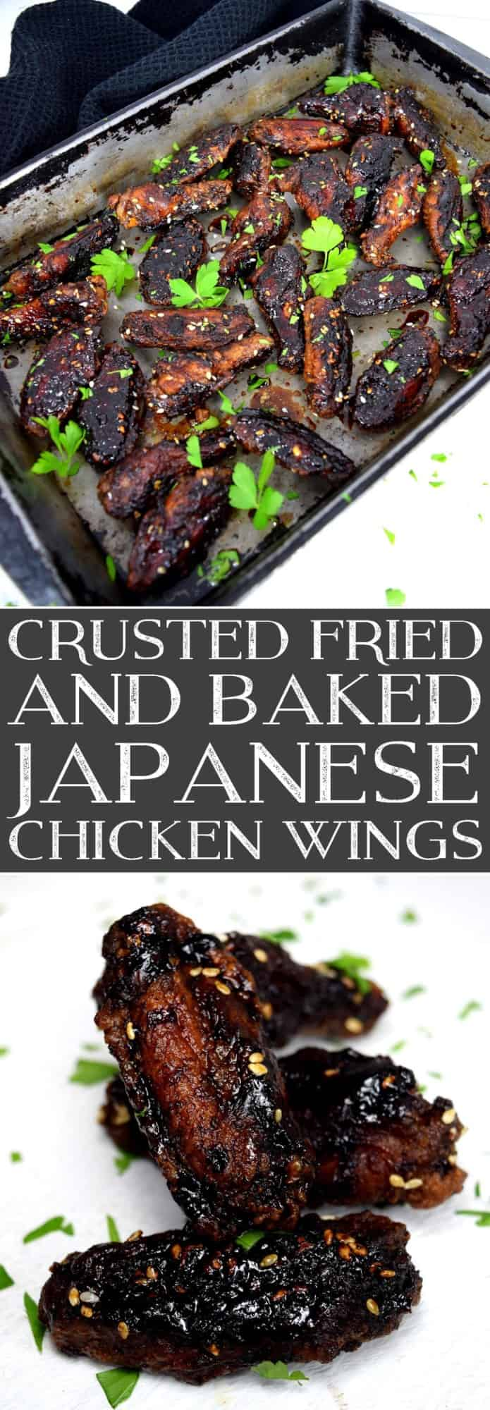 Crusted Fried & Baked Japanese Chicken Wings 2