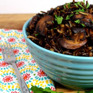 Wild Rice Mushroom Pilaf