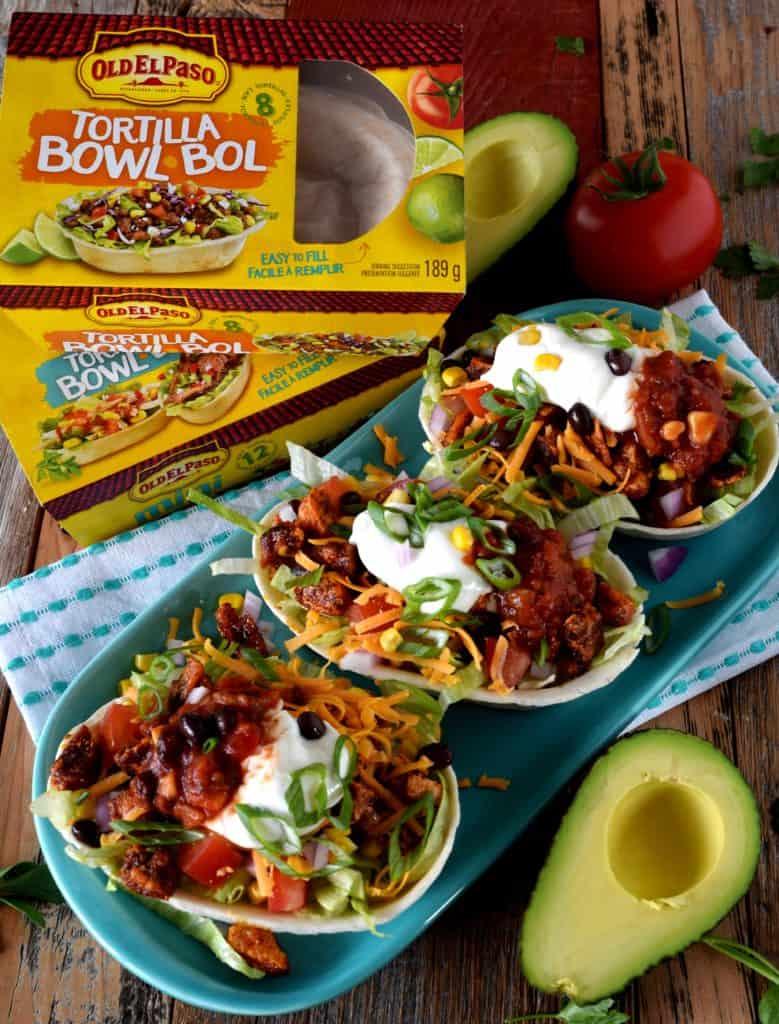 Old El Paso Tofu Taco Bowls Lord Byrons Kitchen