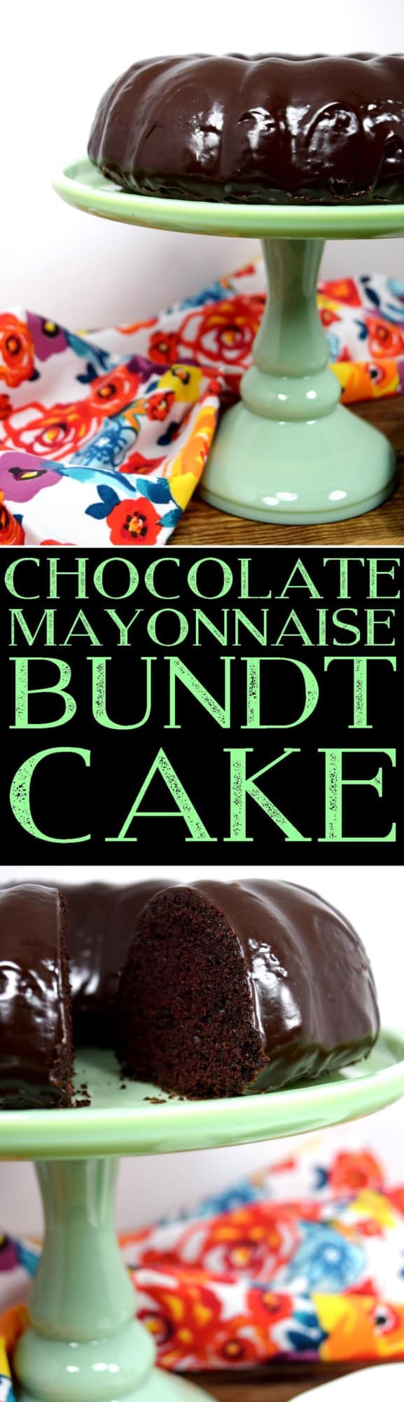 Chocolate Mayonnaise Bundt Cake