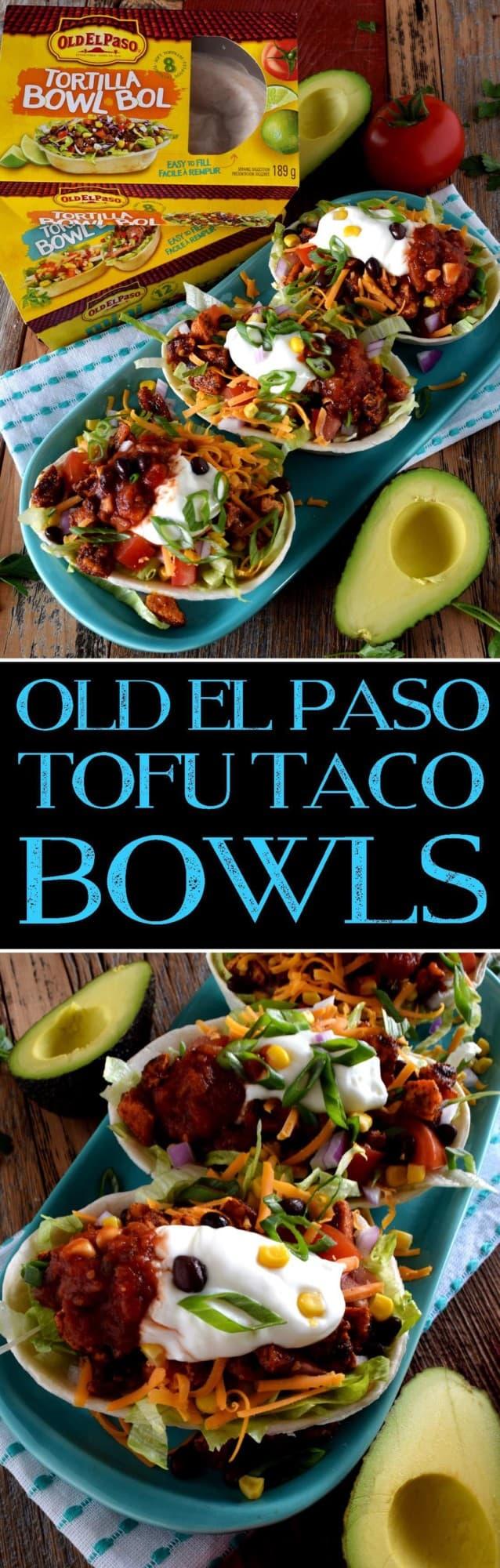 Old El Paso Tofu Taco Bowls