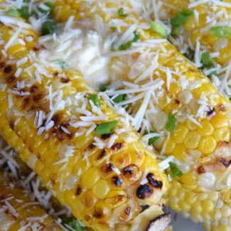 Grilled Parmesan Corn