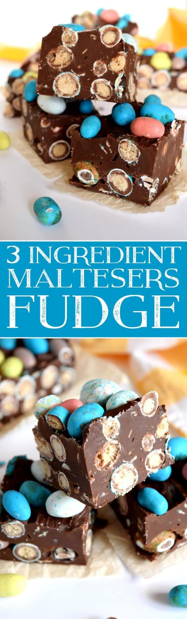 3 Ingredient Maltesers Fudge