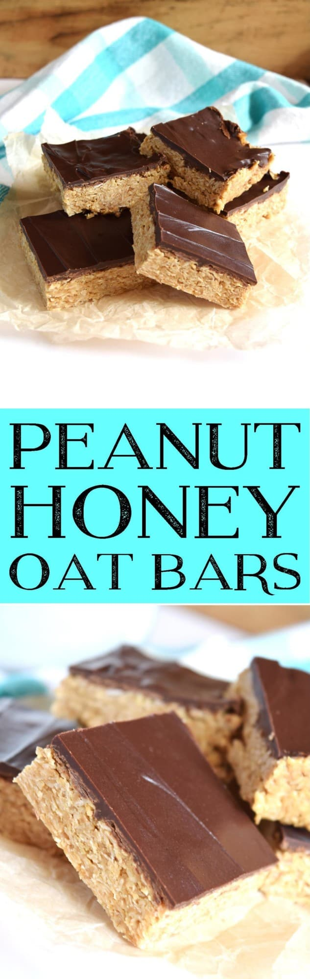 Peanut Honey Oat Bars