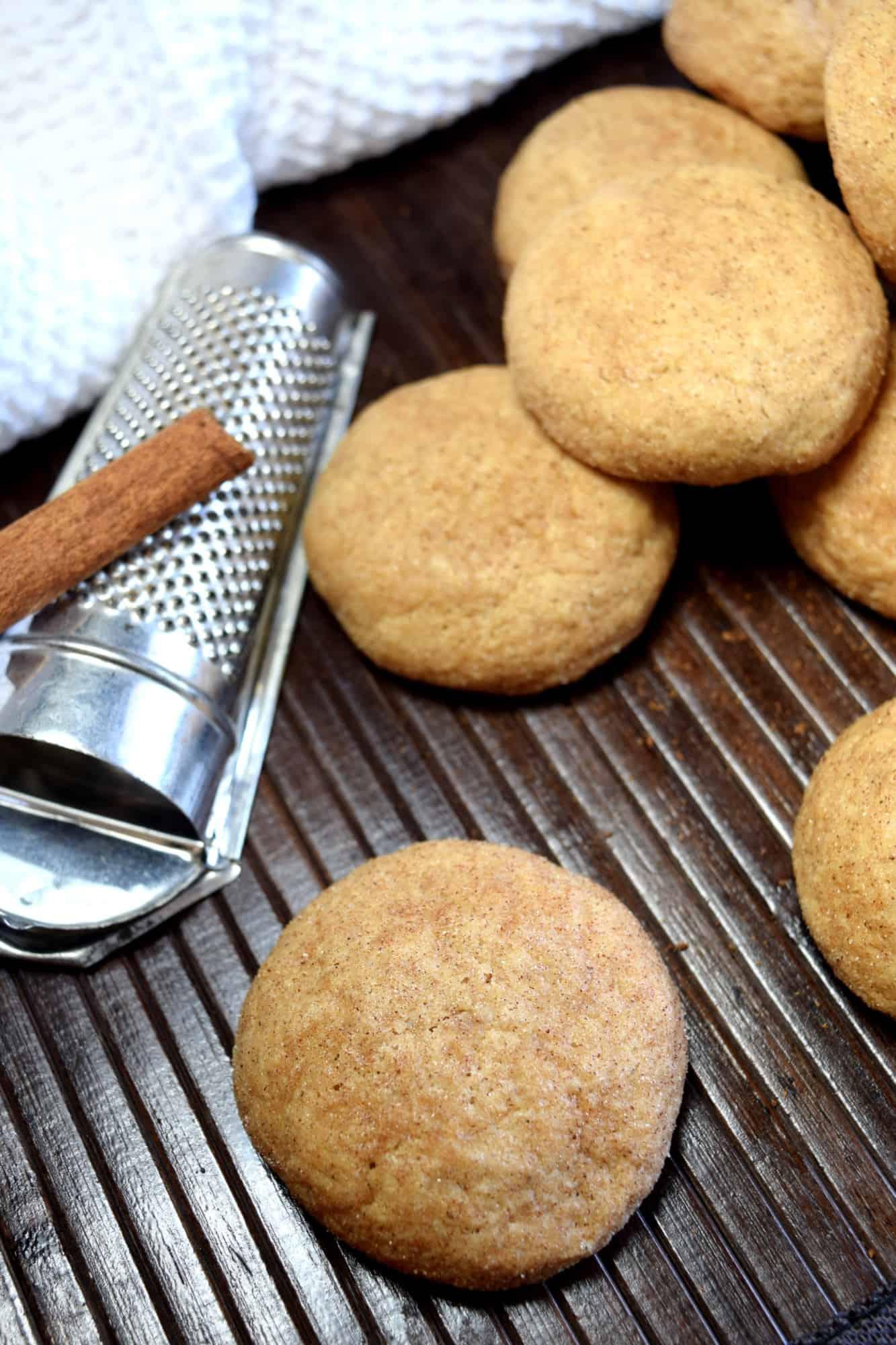 Cinnamon Ricotta Cookies