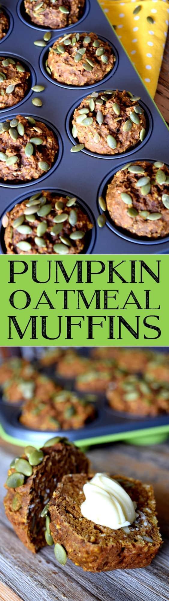 pumpkin-oatmeal-muffins